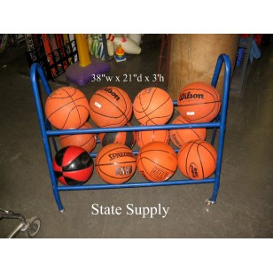 Ball Cart Two Tier Rolling