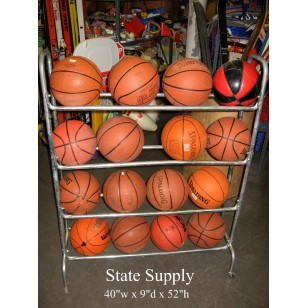 Basketball Rolling Cart