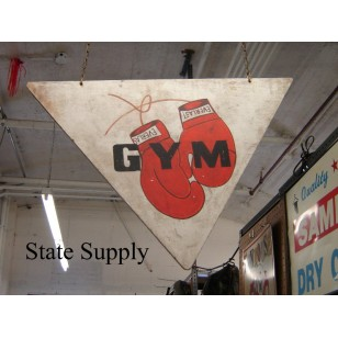 Boxing Gym Sign