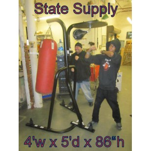Boxing Stand with Heavy Bag & Speed Bag