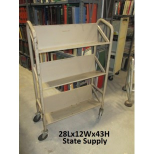 "Beige Book Cart ""The Kerry"""