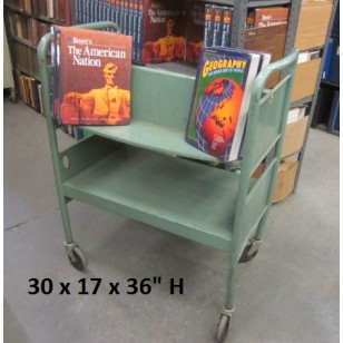 Green  Book Cart