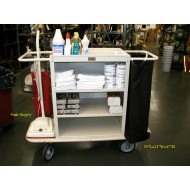 Maid Cleaning Cart