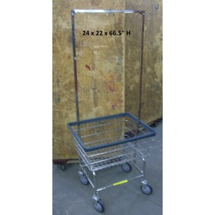 Laundry Cart with Garment Hanger