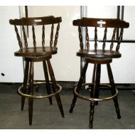 "Bar Stool 30"" high with Spindle Back"