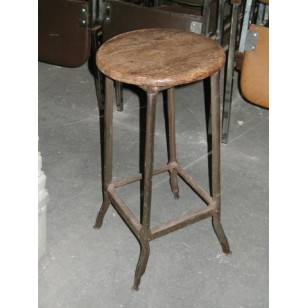 Factory Stool with Joel