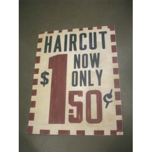 Haircut  Now  Only  $1.50