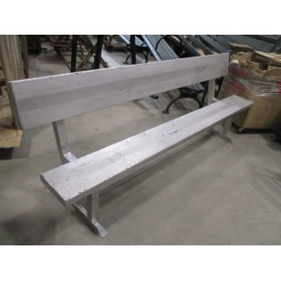 "Aluminum Field Bench 90"" (2 Available)"