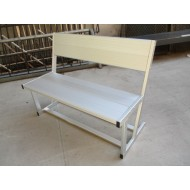 Aluminum Field Bench 45""