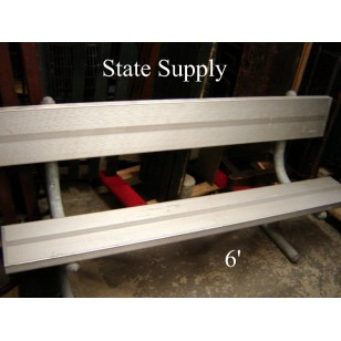 Aluminum Field Bench 6'