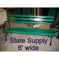 Central Park Bench 6' (15 Available)