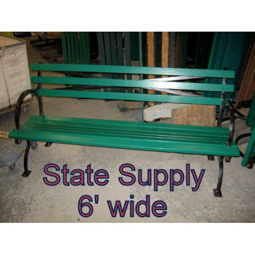 Central Park Bench 6 15 Available