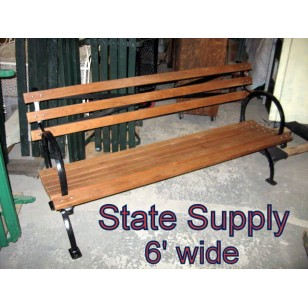Central Park Bench 6 ' (4 Available)