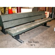 Park Bench Wood Plank (4 available)