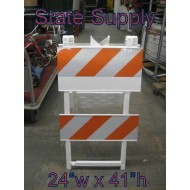 Construction Barricade  24""