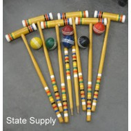 "Croquet Set ""The Wicket"""