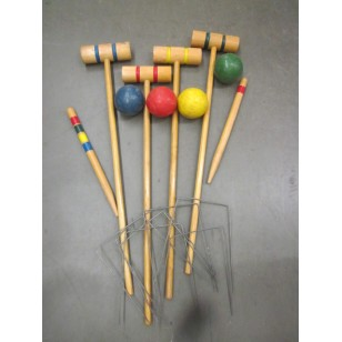 "Croquet Set ""The Peel"""