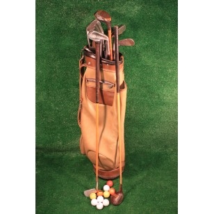 Vintage Wood Golf Clubs