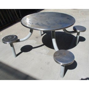 Jail Table Round 4 Seat  (5 available)
