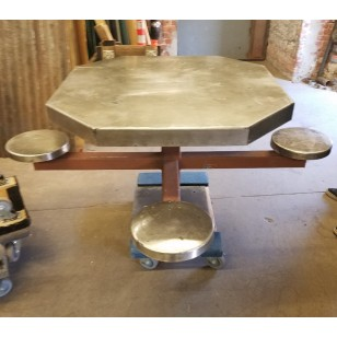 Jail Pedestal Table seat (2 available)