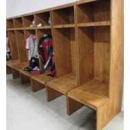 Wood Lockers (8 Available)