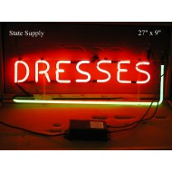 Dresses Neon Sign
