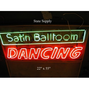 Satin Ballroom Neon Sign