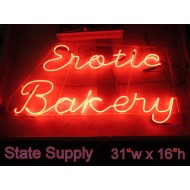 Erotic Bakery Neon Sign