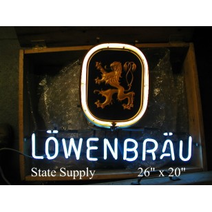 Lowenbrau Neon Sign