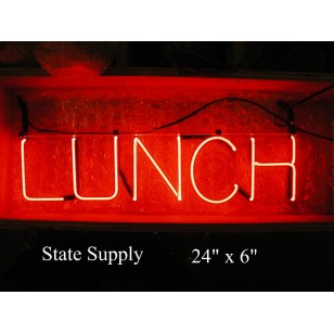Lunch Neon Sign