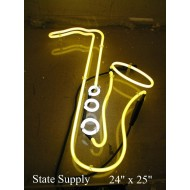 Saxophone Neon Sign