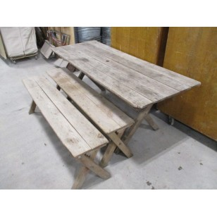 Picnic Table Natural