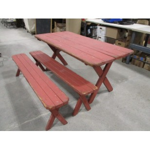 "Picnic Table Redwood  ""The Ant"""