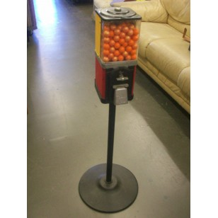 Single Head Gumball Machine on Stand