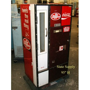 Dr. Pepper/Coca Cola Bottle Vending Machine
