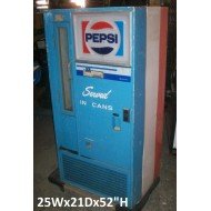Pepsi Served in Cans