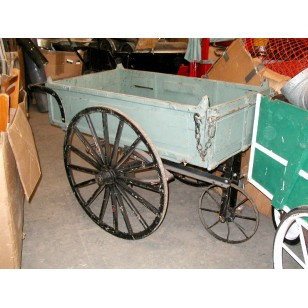 Vendor Push Cart green